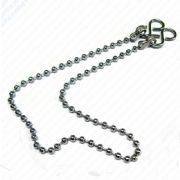 "Bath/Kitchen Sink Plug Chain in Chrome,  12""/18"" (320/450mm)"